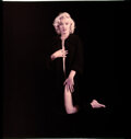 """Movie/TV Memorabilia, Color camera transparency of Marilyn Monroe from """"Nude"""" sitting by Milton Greene. ..."""