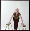 """Movie/TV Memorabilia, Collection of (12) color camera transparencies of Marilyn Monroe from """"Trestle"""" sitting by Milton Greene. ..."""