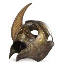 Movie/TV Memorabilia, Galadhrim Elven Warrior helmet from The Lord of the Rings trilogy. ...