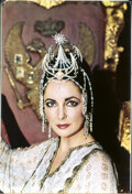 Movie/TV Memorabilia, Collection of (519) black-and-white and color camera negatives and transparencies of Elizabeth Taylor from The Blue Bird by Mi...
