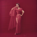 Movie/TV Memorabilia, Collection of (220) black-and-white and color negatives and transparencies of Ivy Nicholson by Milton Greene. ...