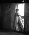 Movie/TV Memorabilia, Collection of (120) black-and-white camera negatives of Tina Louise by Milton Greene. ...