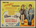 """Movie Posters:Comedy, Once Upon A Honeymoon (RKO, 1942). Title Lobby Card (11"""" X 14"""").Comedy...."""