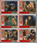 """Movie Posters:Adventure, One Million Years B.C. (20th Century Fox, 1966). Lobby Cards (6)(11"""" X 14""""). Adventure.... (Total: 6 Items)"""