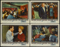 """Movie Posters:Crime, Ocean's 11 (Warner Brothers, 1960). Lobby Cards (4) (11"""" X 14"""").Crime.... (Total: 4 Items)"""