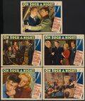 "Movie Posters:Drama, On Such a Night (Paramount, 1937). Lobby Cards (5) (11"" X 14""). Drama.... (Total: 5 Items)"