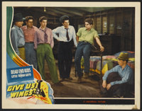 """Give Us Wings (Universal, 1940). Lobby Card (11"""" X 14""""). Adventure"""