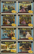 """Movie Posters:Musical, The King and I (20th Century Fox, 1956). Lobby Card Set of 8 (11"""" X 14""""). Musical.... (Total: 8 Items)"""