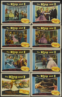 "The King and I (20th Century Fox, 1956). Lobby Card Set of 8 (11"" X 14""). Musical.... (Total: 8 Items)"