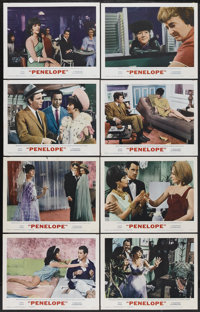 "Penelope (MGM, 1966). Lobby Card Set of 8 (11"" X 14""). Comedy.... (Total: 8 Items)"