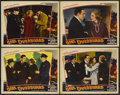 """Movie Posters:Mystery, Girl Overboard (Universal, 1937). Lobby Cards (4) (11"""" X 14"""").Mystery.... (Total: 4 Items)"""