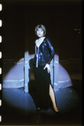 Movie/TV Memorabilia, Collection of (247) black-and-white and color camera negatives and transparencies of Barbra Streisand from Funny Girl by Milto...