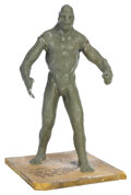 Movie/TV Memorabilia, Orc/Uruk-hai pre-production concept maquette from The Lord of the Rings trilogy. ...