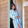 Movie/TV Memorabilia, Collection of (122) black-and-white and color camera negatives and transparencies of Claudia Cardinale by Milton Greene. ...