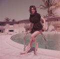 Movie/TV Memorabilia, Collection of (156) color camera transparencies of Ann Gunning by Milton Greene ...
