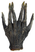 Movie/TV Memorabilia, Alien hand created by H. R. Giger for Alien. ...