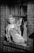 Movie/TV Memorabilia, Collection of (745) black-and-white camera negatives of Marilyn Monroe from Bus Stop by Milton Greene. ...