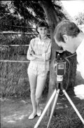 Movie/TV Memorabilia, Collection of (248) black-and-white camera negatives of Audrey Hepburn from War and Peace by Milton Greene. ...