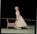 """Movie/TV Memorabilia, Collection of (3) Color camera transparencies of Marilyn Monroe from """"Ballerina"""" sitting by Milton Greene. ..."""