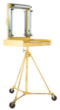 Movie/TV Memorabilia, Lucille Ball portable makeup table used throughout her career. ...