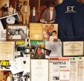 Movie/TV Memorabilia, Henry Thomas' personal collection of E.T. the Extra-Terrestrial-related materials. ...