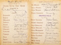 Movie/TV Memorabilia, Assistant director Eric G. Stacey's cast-signed Gone with the Wind novel. ...