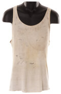 Movie/TV Memorabilia, Samuel L. Jackson costume and Bruce Willis signature tank top from Die Hard with a Vengeance. ...
