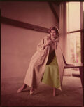 Movie/TV Memorabilia, Collection of (371) black-and-white and color negatives and transparencies of Suzy Parker by Milton Greene. ...