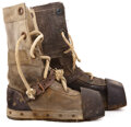 """Movie/TV Memorabilia, Hero """"Nautilus"""" crewman weighted dive boots from 20,000 Leagues Under the Sea. ..."""