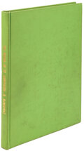 Movie/TV Memorabilia, Contributing writer Herman J. Mankiewicz's personally annotated script for The Wizard of Oz. ...