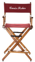 Movie/TV Memorabilia, Carrie Fisher personal on-set director's chair from Star Wars: Episode VI - Return of the Jedi....