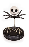 """Movie/TV Memorabilia, """"Jack Skellington"""" replacement head and hands from The Nightmare Before Christmas. ..."""
