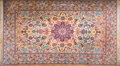 Movie/TV Memorabilia, Debbie Reynolds personal Iranian Isfahan carpet gifted to her by the Shah of Iran....