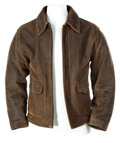 Movie/TV Memorabilia, Harrison Ford's signature leather jacket from Indiana Jones and the Kingdom of the Crystal Skull. ...