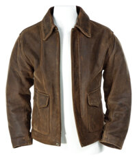 Harrison Ford's signature leather jacket from Indiana Jones and the Kingdom of the Crystal Skull
