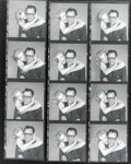 Movie/TV Memorabilia, Collection of (12) vintage contact print sheets of Marilyn Monroe and Arthur Miller by Richard Avedon. ...
