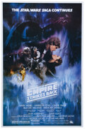 Movie/TV Memorabilia, Star Wars: Episode V - The Empire Strikes Back commercial 1-sheet poster signed by Carrie Fisher....