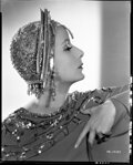 Movie/TV Memorabilia, Collection of (16) black-and-white camera negatives of Greta Garbo by Clarence Sinclair Bull....