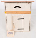 Movie/TV Memorabilia, Debbie Reynolds personal novelty outhouse gifted to her by Carrie Fisher....