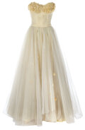 """Movie/TV Memorabilia, Elizabeth Taylor """"Angela Vickers"""" iconic screen-worn dress from A Place in the Sun. ..."""