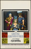 "Movie Posters:Historical Drama, Cleopatra (20th Century Fox, 1963). Window Card (14"" X 22"").Historical Drama...."