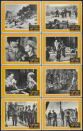 "Movie Posters:War, The Green Berets (Warner Brothers, 1968). Lobby Card Set of 8 (11""X 14""). War.... (Total: 8 Items)"