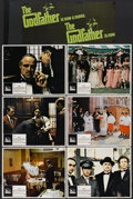 "Movie Posters:Crime, The Godfather (Paramount, 1972). Lobby Cards (6) (11"" X 14"").Crime.... (Total: 6 Items)"