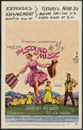 "Movie Posters:Academy Award Winner, The Sound of Music (20th Century Fox, 1966). Academy Award WindowCard (14"" X 22""). Academy Award Winner...."