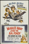 "Movie Posters:Comedy, McHale's Navy Joins the Air Force (Universal, 1965). One Sheet (27"" X 41""). Comedy...."