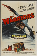 "Movie Posters:Adventure, The Warriors (Allied Artists, 1955). One Sheet (27"" X 41"").Adventure...."
