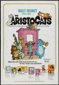 "Movie Posters:Animated, The Aristocats (Buena Vista, 1971). One Sheet (27"" X 41""). Animated...."