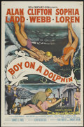 """Movie Posters:Adventure, Boy on a Dolphin (20th Century Fox, 1957). One Sheet (27"""" X 41"""").Adventure...."""
