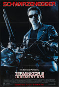 "Movie Posters:Science Fiction, Terminator 2: Judgment Day (Tri-Star, 1991). Advance One Sheet(26.5"" X 39.5"") DS. Science Fiction...."