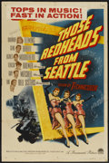 """Movie Posters:Musical, Those Redheads From Seattle (Paramount, 1953). One Sheet (27"""" X 41""""). Musical...."""